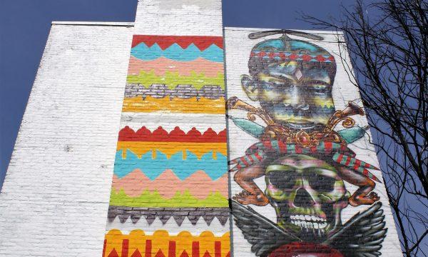 h6r1-s15 Pancratiusstraat - Betaplein - naamloze muurschildering - Troy Lovegates