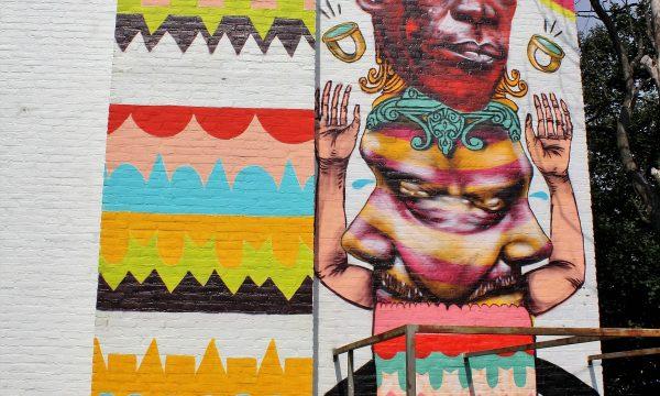 h6r1-s16 Pancratiusstraat - Betaplein - naamloze muurschildering - Troy Lovegates