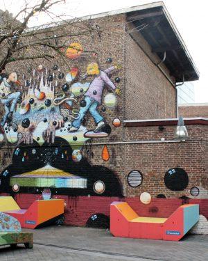 h6r1-s19 Pancratiusstraat -Morenhoek Swinging Birds-Collin van der Sluijs