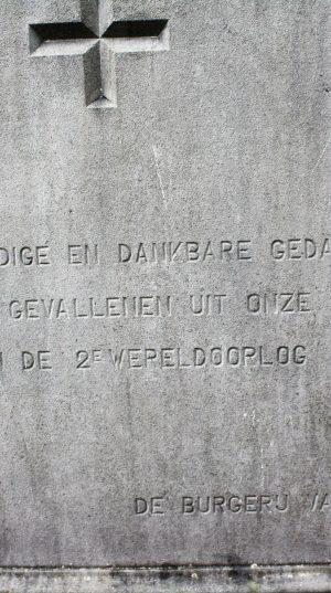 h6r3-a13 Akerstraat - Gedenkplaat