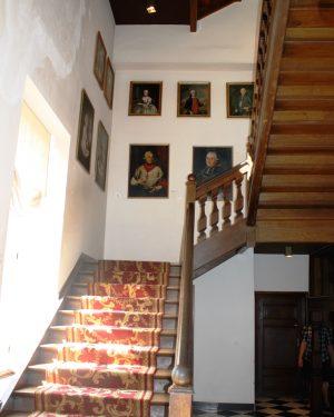 h6r7-r09 Klinkerstraat - Interieur Kasteel Hoensbroek