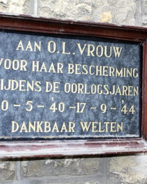 238, p156(2) Herdenkingsnis Rector Poelsplein (inlassen)
