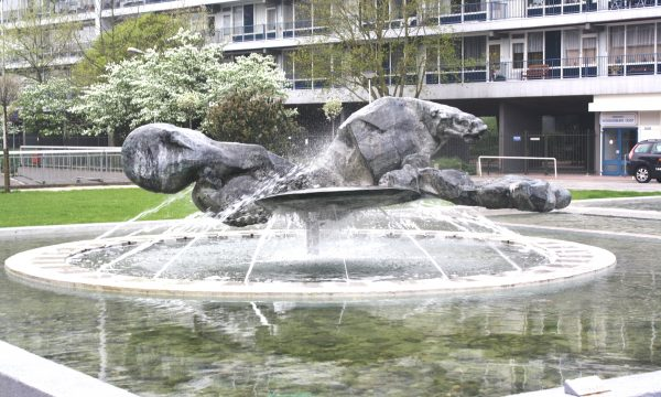 h6r1-i03 Burg. Van Grunsvenplein - De Zonneruiter-Arthur Spronken - 1971