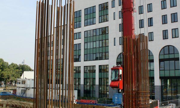 h6r1-j09 Stationsplein Maankwartier in aanbouw