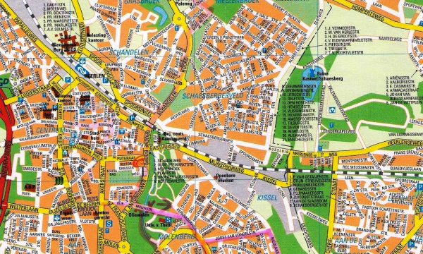 plattegrond Route 4