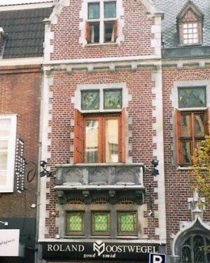 R1a14- Geleenstraat - Voorm. sigarenwinkel Gemmeke-J.Seelen - 1900