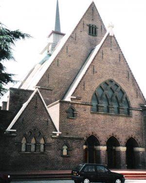 R1a17- Laanderstraat - R.K. kerk Sint Franciscus van Assisie - P.G.Buskens - 1922