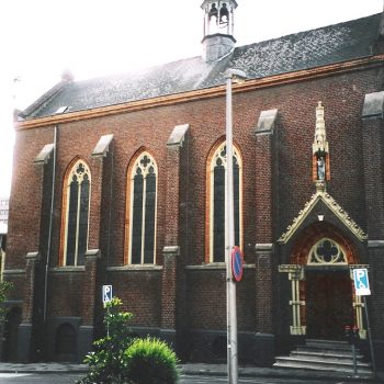 R1a8a-Gasthuisstraat Kapel bij het klooster - Joh. Kayser -1878