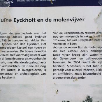 R6a11b-Eikendermolenweg - Ruine Eyckholt