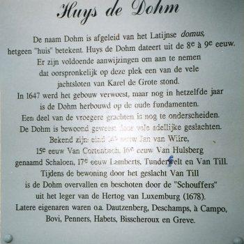R6a2b- De Doom - Huys De Dohm -