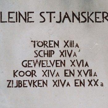 R7a5b- Marktplein - Kleine St. Jan