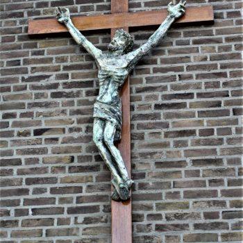 bkr4-k01 Corisbergweg - Kruis aan kapel- Corpus Sjef Drummen