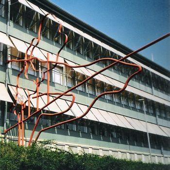 bkr2-b06 Looierstraat -Leidraad naar het centrum-Narciss Tordoir(Antwerpen)-1997