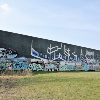 bkr2-j01 Mijnspoorweg - Hall of fame-Legal graffiti wall
