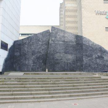 bkr2-n01 Coriovallumstraat - Porta Nigra-Kees Wevers-1989
