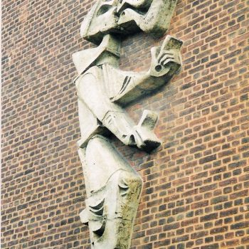 bkr3-a15 Akerstraat - St. Franciscus-Frans Cox- Zijkant gymnasiumvleugel Bernardinus