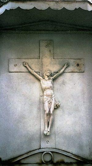bkr3-b03 Kruisstraat - Kruis onder kap-1930