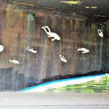 bkr3-n03 Tichelbeekstraat -Viaduct - Naamloos- Dave de Leeuw