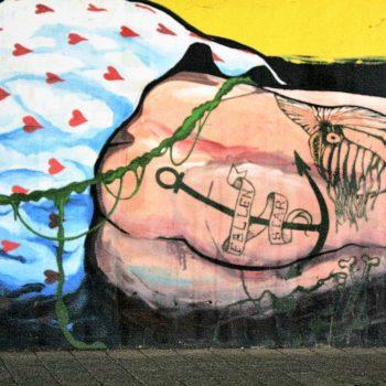bkr3-n06 Tichelbeekstraat -Viaduct - Naamloos- Dave de Leeuw