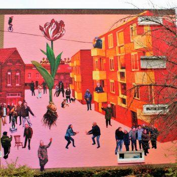 bkr4-a6 Vijgenweg-Oude Kerkstraat-Muurschildering-Aida (US)