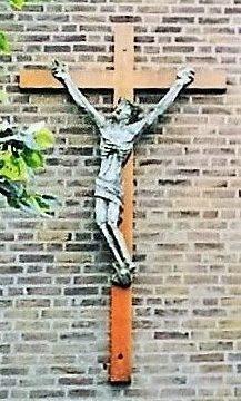 bkr4-k01 Corisbergweg - Kruis aan kapel-Sjef Drummen