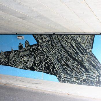 bkr5-b14 Huskensweg - viaduct - Historical dimensions-Jens Besser