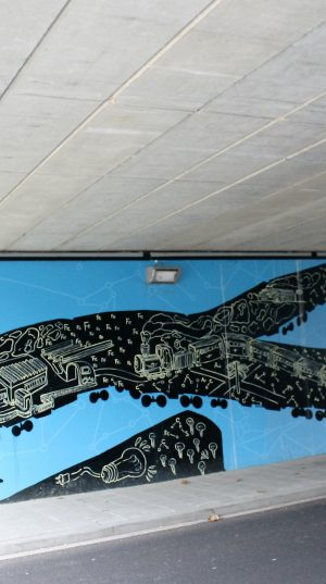 bkr5-b15 Huskensweg - viaduct - Historical dimensions-Jens Besser