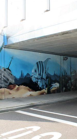 bkr5-b17 Huskensweg - viaduct - Underwaterworld - James Jetlag