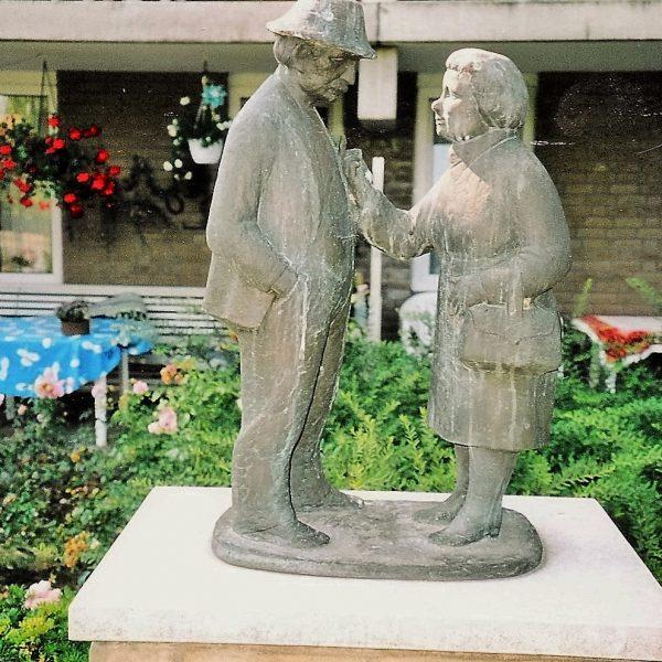 bkr5-t01 Willem Barentsz.weg - Man en vrouw-Zef Eymael-1971