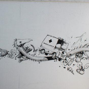 bkr6-d17 Henri Dunantstraaat - Ambulance-Arno Sijben- T.o. ziekenhuis