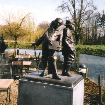 bkr6-n01 Koekoeksweg - De Baron-De Kunstenaar-De Jachtopziener - Ru de Vries-2000- Kasteel Terworm
