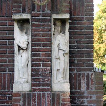 bkr7-f03 Pius XII plein - H. Hartbeeld-Sjef Eijmael- Nieuw Lotbroek