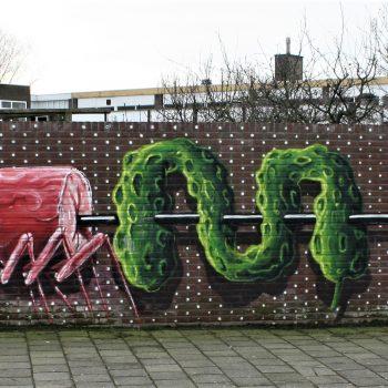 Bkr1-p05 Eikenderweg - muurschildering-Shrimpi Spiss - HNRX (AUT)