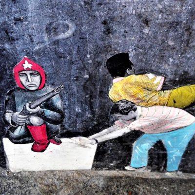 bkr3-a00 Akerstraat- minimurrschildering opgeplakt-Pablo Delgado (MEX)