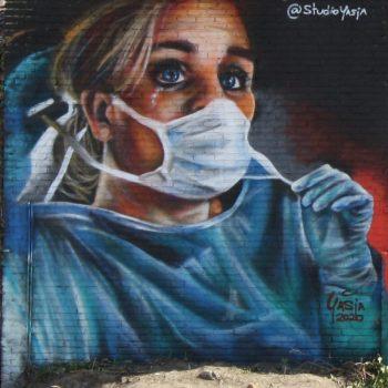 bkr2-h11 Verpleegster tijdens Corona crisis