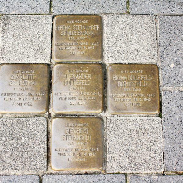 bkr1-b02 Promenade - Honigmannstraat - Stolpersteine-Gunther Demnig