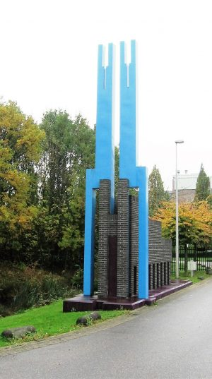 bkr2-a18 Valkenburgerweg - Blauw bouwwerk - Marc Hendriks